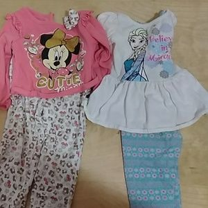 2 Disney outfits